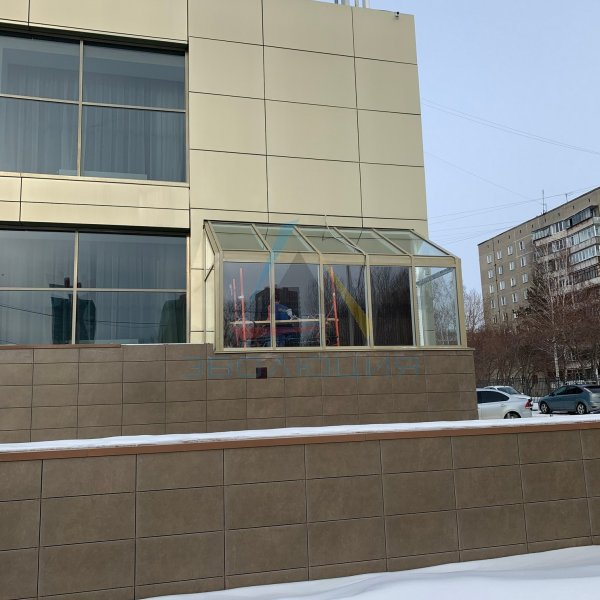 Фасады и витражи из алюминия в Челябинске